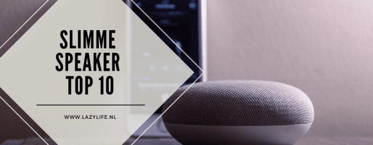 Top 10 slimme speakers