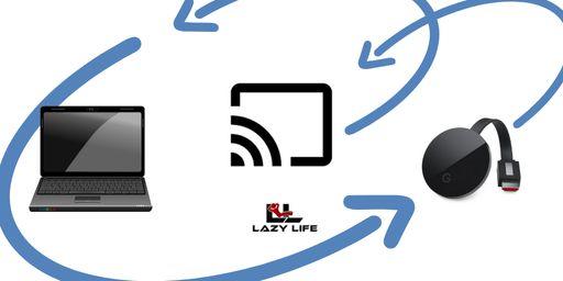Laptop Koppelen Aan Chromecast Beeld Casten Naar Tv Lazy